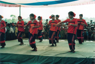 A Chakma dance
