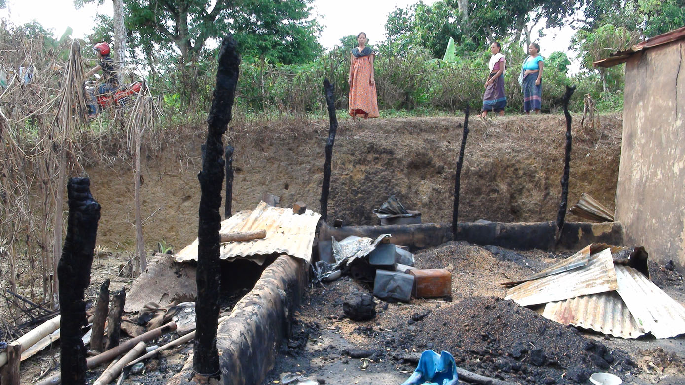 Photo: Taindong settler attack, 3 August 2013